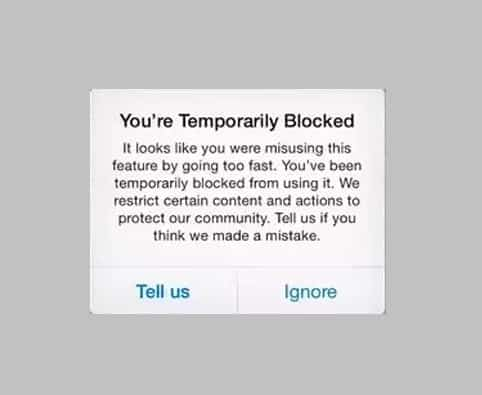 How Long Does Instagram Temporarily Block you from Following People